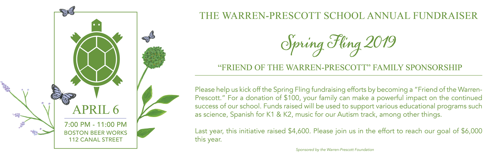 Become a Friend of the Warren Prescott today!